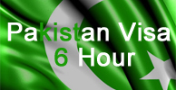 Pakistan Visa 6 Hours